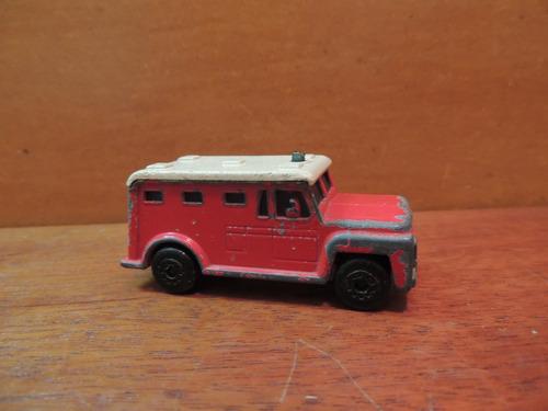 carrinho coleção matchbox 1978 armored truck england
