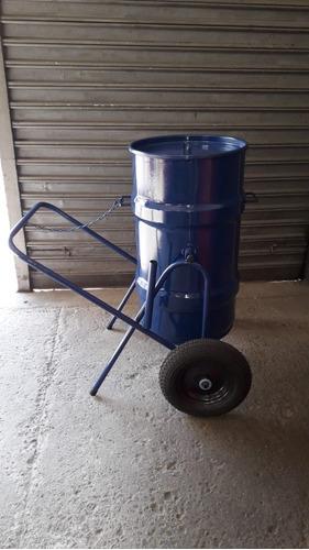 carrinho coletor de lixo (gari)  cod. 2099