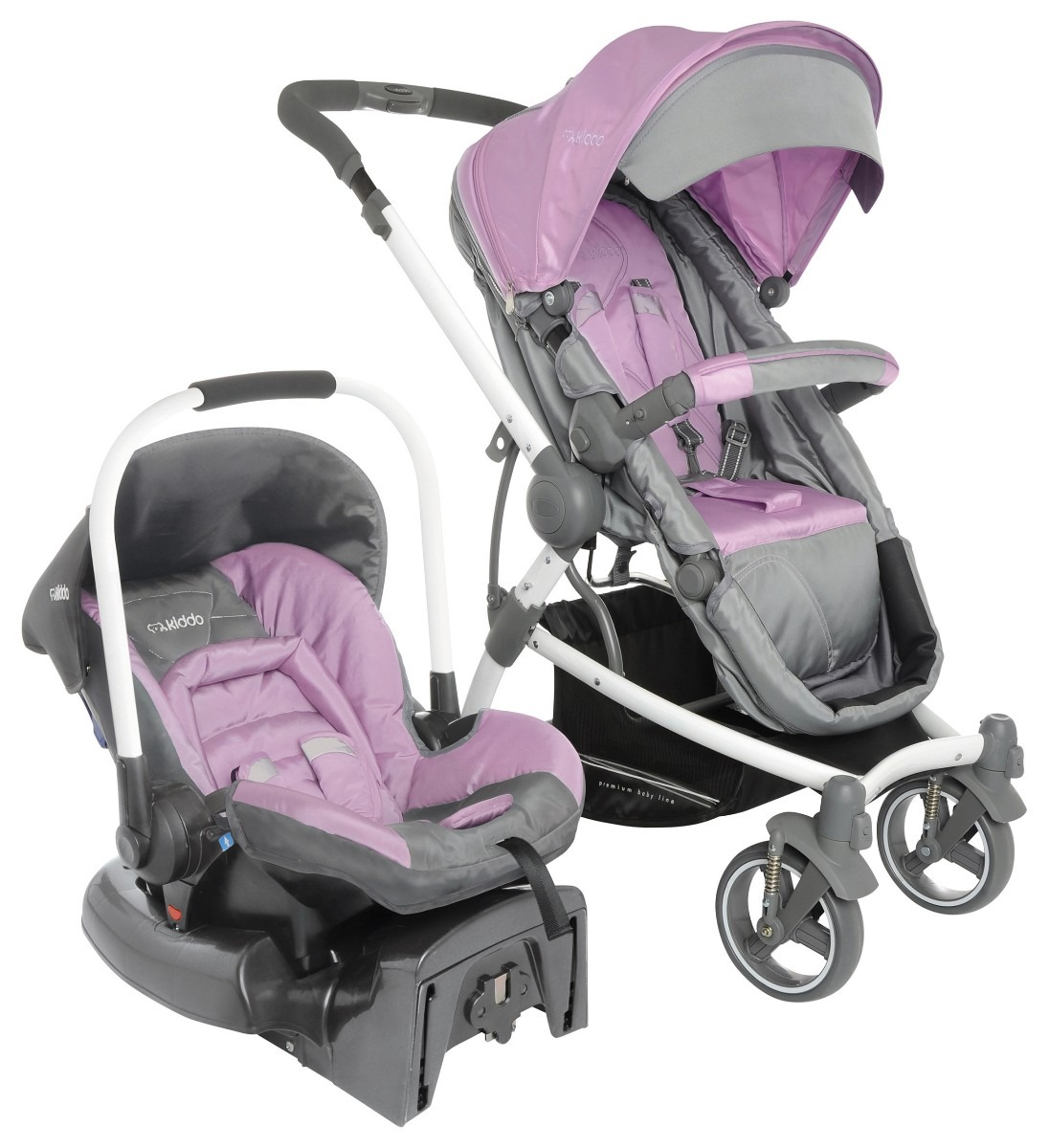 44cb4c0a6a425 carrinho com bebe conforto aspen lenox kiddo travel system. Carregando zoom.