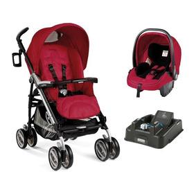 Carrinho Com Bebê Conforto Pliko P3 Compact - Peg-pérego