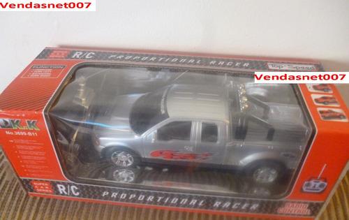 carrinho controle remoto carro estilo camionete 4x4 22x8,5