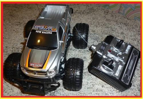 carrinho controle remoto carro estilo camionete 4x4 cross !!