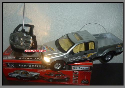 carrinho controle remoto carro estilo camionete cros 4x4 luz