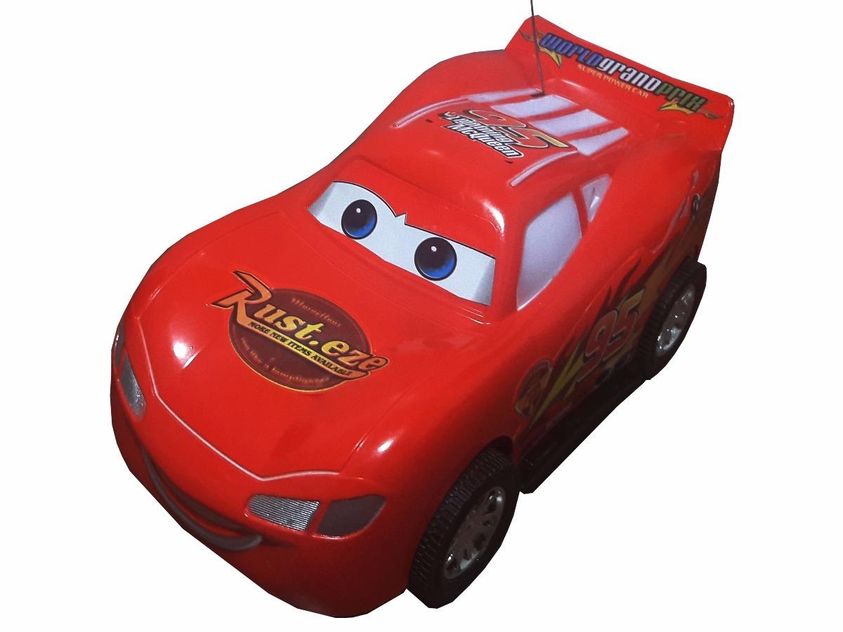 Carrinho Controle Remoto Infantil Relampago Maquim Carros 2 R