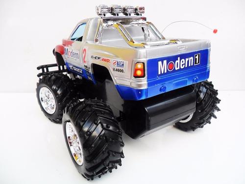 carrinho controle remoto recarregável caminhonete pickup 4x4