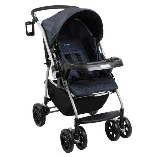 carrinho de bebê at6-k bike netuno reclinável - burigotto