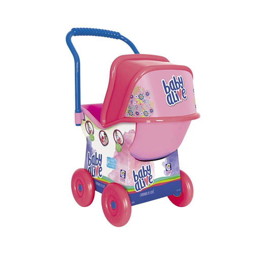 carrinho de bebê baby alive - cotiplás