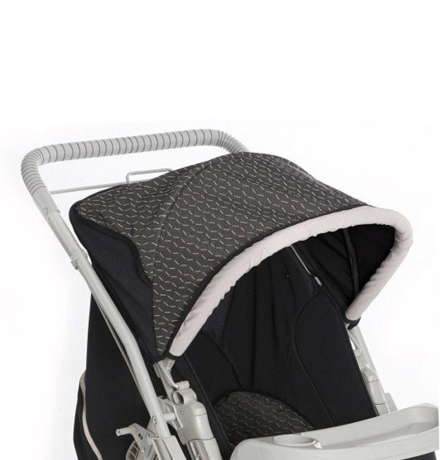 42484aad24 Carrinho De Bebê Berço Reversível Bege Pegasus Galzerano - R  799