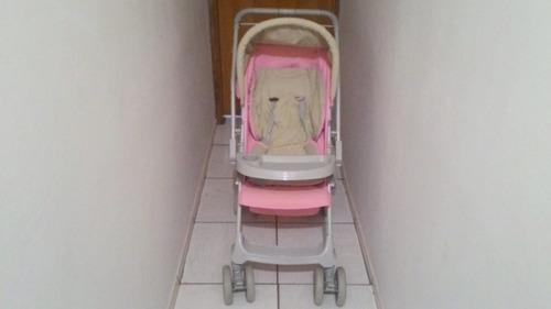 carrinho de bebê feminino seminovo!