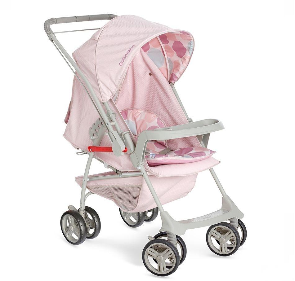 e3f16f5274 carrinho de bebê galzerano milano reversível rosa. Carregando zoom.