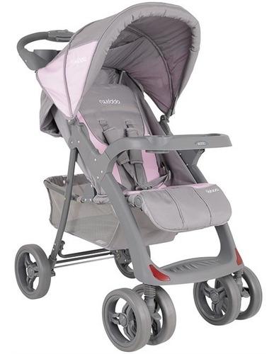 carrinho de bebê lisboa rosa kiddo