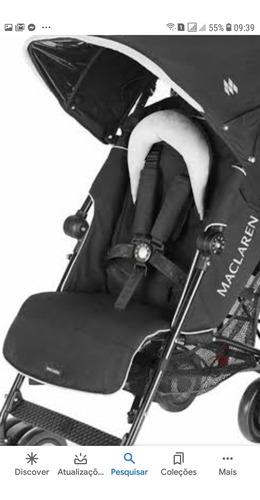 carrinho de bebê maclaren tx tchnno black