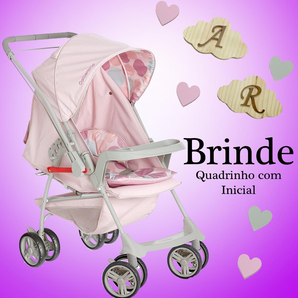 4b6a2d42d2 carrinho de bebê milano reversível ii rosa bebê + brinde. Carregando zoom.