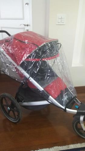 carrinho de bebê thule urban glide + acessórios