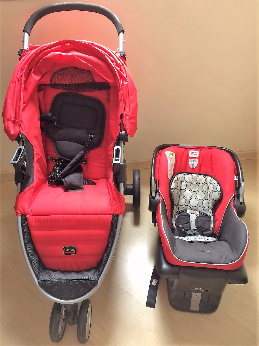 carrinho de bebe com bebe conforto britax b-agile   b-safe. Carregando zoom. e111fd09f0