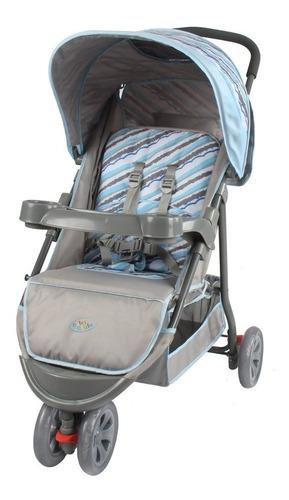 carrinho de bebe passeio 3 rodas triciclo baby style 15kg