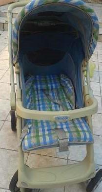 carrinho de bebe passeio burigotto semi-novo