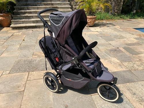 carrinho de bebe phil&teds importado para 2 criancas