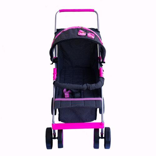 carrinho de boneca bebê reborn milano estilo luxo