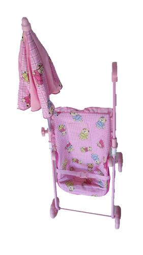 carrinho de boneca com sombrinha b5 - uliví
