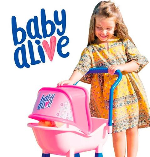 carrinho de boneca da baby alive 2130 - cotiplás