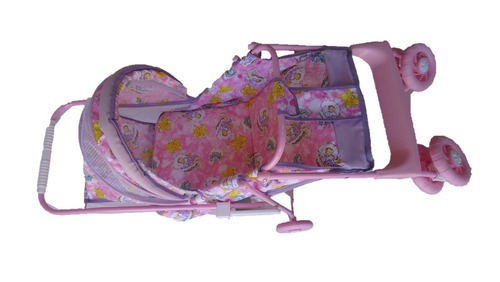 carrinho de boneca ferro 2 em 1 luxo b7 - uliví