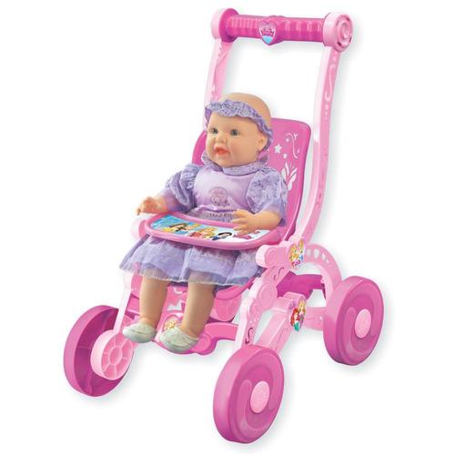 carrinho de boneca princesas