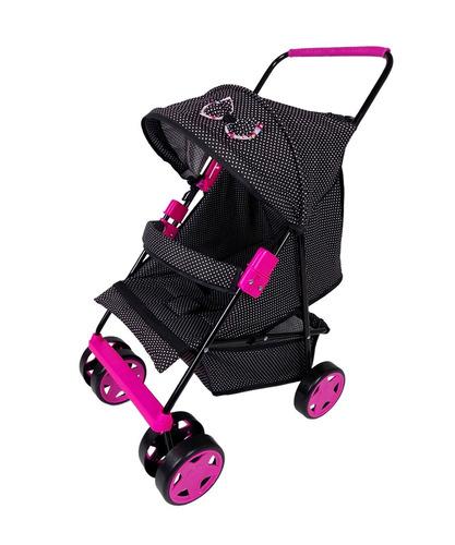 carrinho de boneca rosa bebê reborn milano estilo luxo