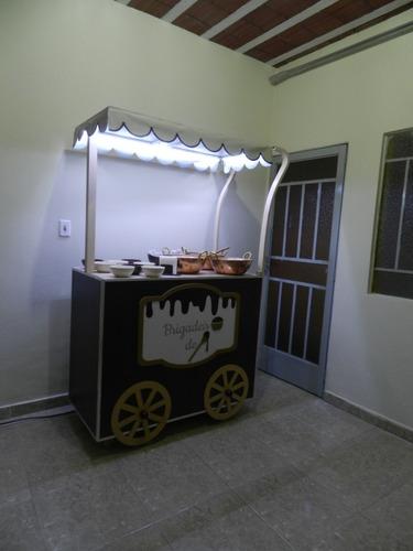 carrinho de brigadeiro