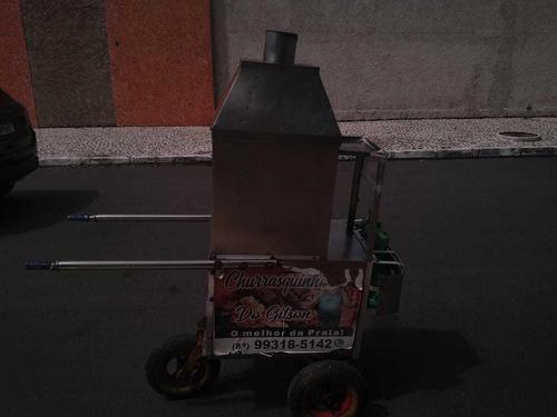 carrinho de churrasco