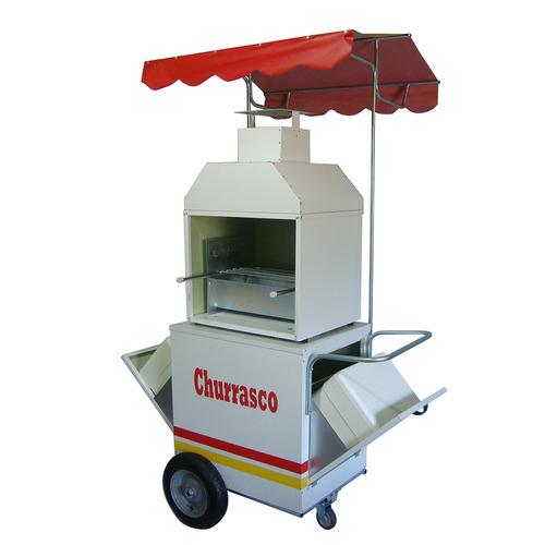 carrinho de churrasco e bebidas- modelo 4018