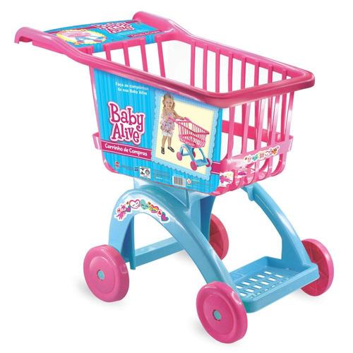 carrinho de compras baby alive