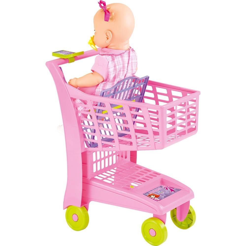 303cf22080 carrinho de compras infantil supermercado rosa frete grátis. Carregando  zoom.