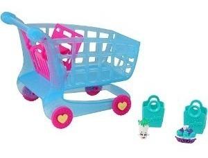 carrinho de compras shopkins série 3 brinquedo dtc 3586 fg