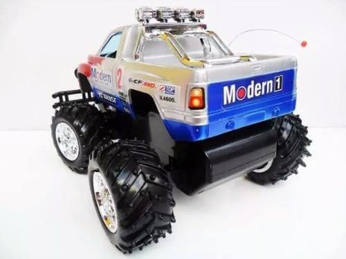 carrinho de controle remoto pickup bateria recarregavel