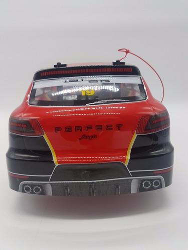 carrinho de corrida turbo drift controle remoto  40cm
