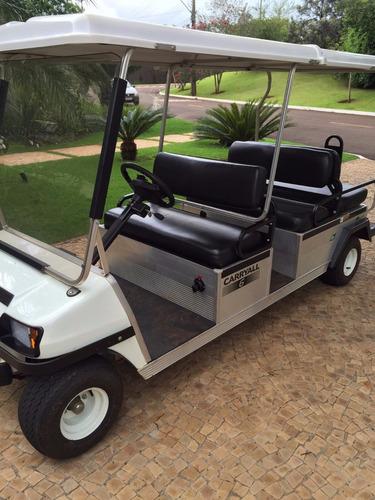 carrinho de golfe club car , carryal 6 elétrico