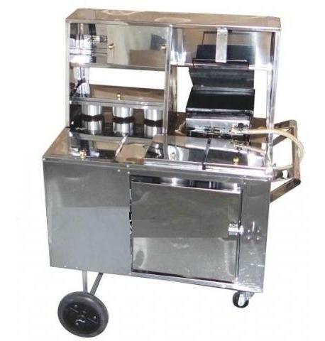 carrinho de hot dog cachorro quente lanches chapa inox