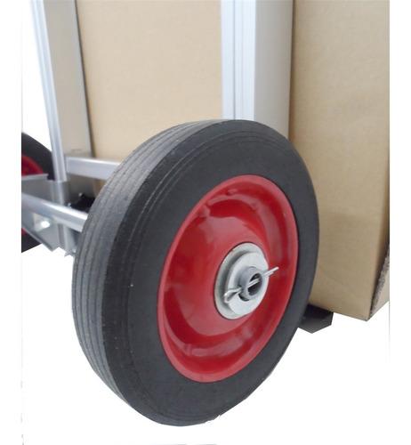 carrinho de mao dobravel profissional 150 kilos transporte