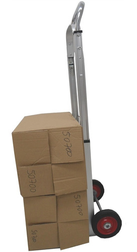 carrinho de mão dobrável profissional para carga até 150 kg