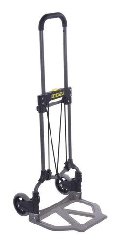 carrinho de mão dobrável transporte carga até 70kg klatter
