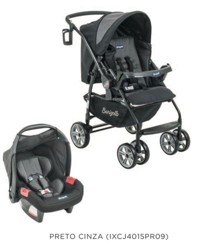 carrinho de passeio burigotto at6k+ bebê conforto promoção