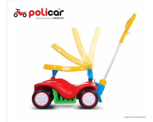 carrinho de passeio policar® azul - 7041
