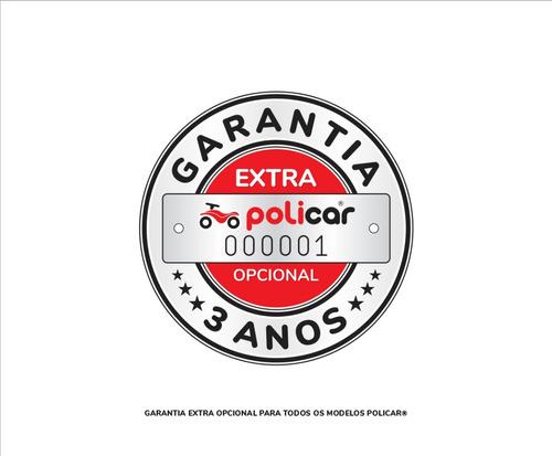 carrinho de passeio policar® soft vermelho - 7065