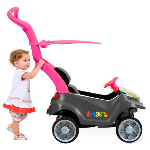carrinho de passeio smart - baby comfort menina - bandeirant