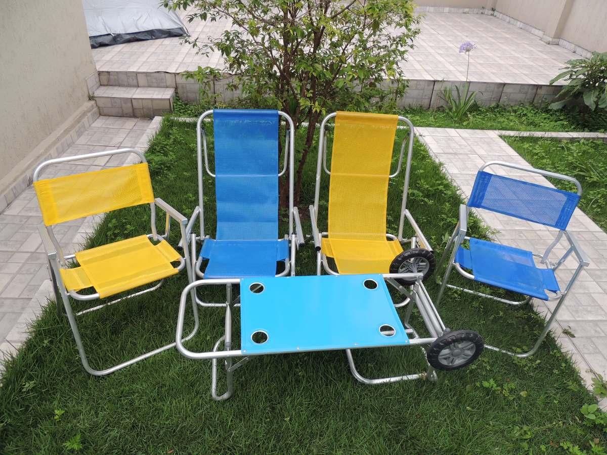 Carrinho De Praia Vira Mesa Para Cadeira Guarda Sol E Cooler R$ 149  #0297C9 1200x900
