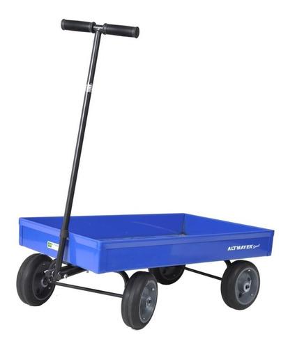 carrinho de puxar americano infantil vagão altmayer al-40