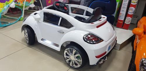 carrinho eletrico infantil new beetle fusca com controle