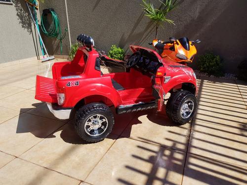carrinho eletrico infantil  ranger 12v com controle