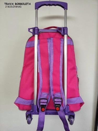 carrinho escolar para mala e mochila escolar